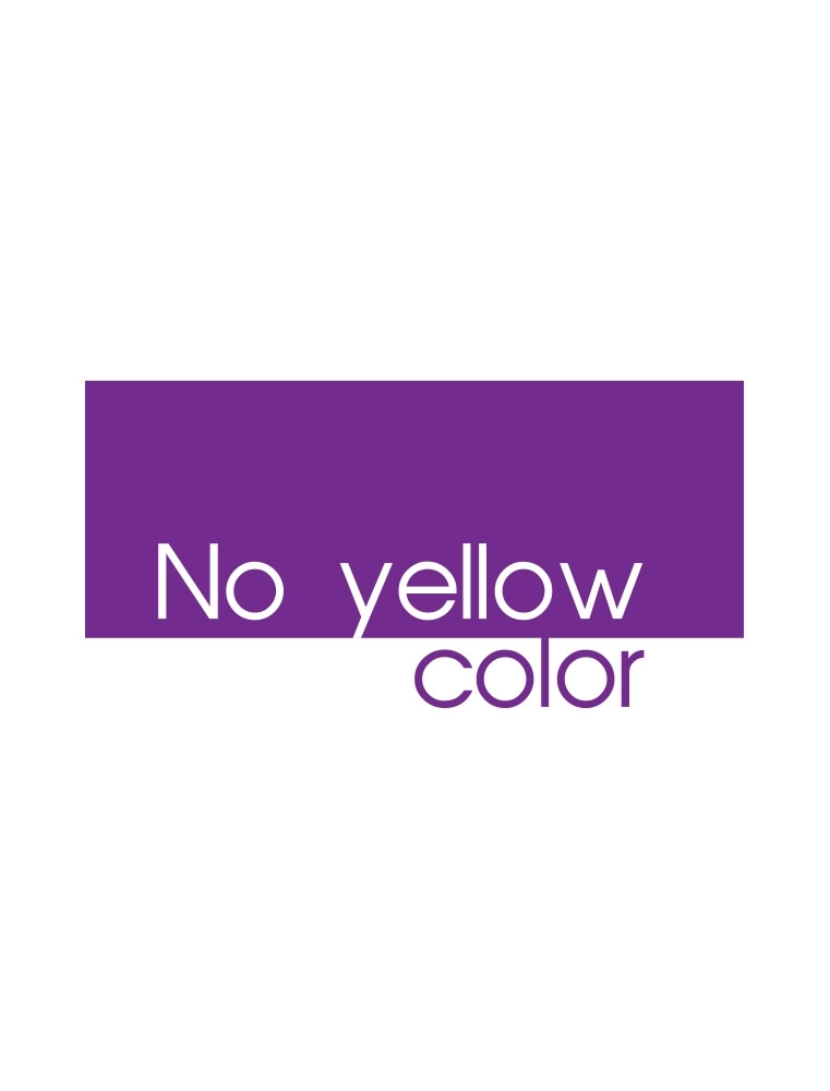 NO YELLOW COLOR